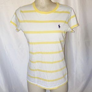 2for30$ white and yellow striped t-shirt